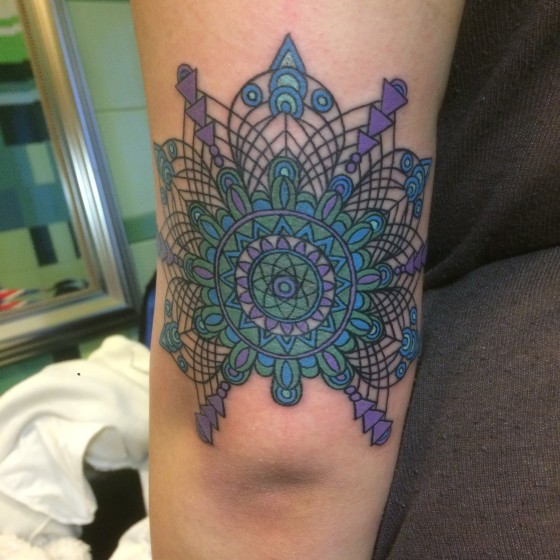 Mandala Blu